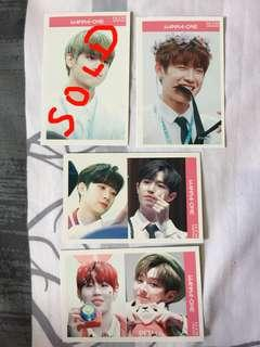 Wanna - One Photo Card PC - Ong SeongWu , Park Woojin , Lai Kuan Lin , Kim Jae Hwan , Ha Sungwoon , Yoon Jisung