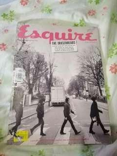 Eraserheads Esquire Magazine Issue. Limited and collectible