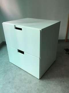 Kids White Clothes Drawers