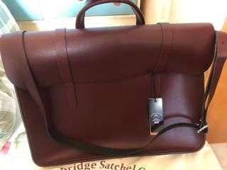 Cambridge wine satchel bag