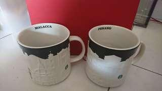 Starbucks relief mug strait states Malacca and Penang 🇲🇾