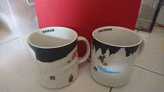 Starbucks relief mug eastern Malaysia Sabah and Sarawak 🇲🇾