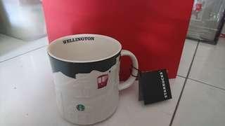 Starbucks relief mug Wellington New Zealand 🇭🇲