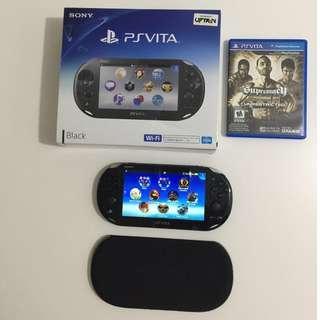 Sony Playstation Vita Slim Black Wi-Fi