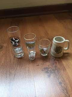 Small glasses collectibles