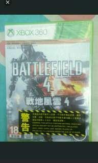 全新 Xbox360 battlefield 4 戰地風雲4