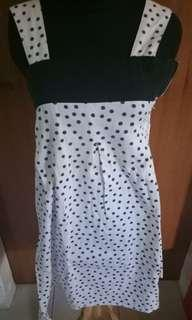 Dress Up Polkadot Navy