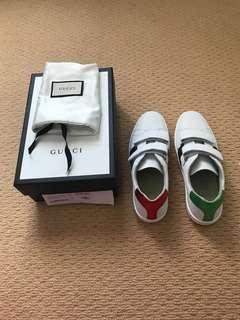 Gucci Kids Velcro Aces 38