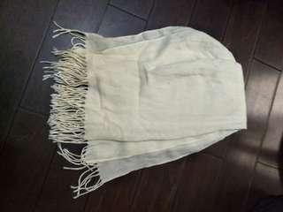🚚 米色圍巾