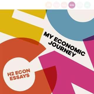 MY ECONOMIC JOURNEY #next30