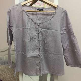GAP Peplum Top Blouse