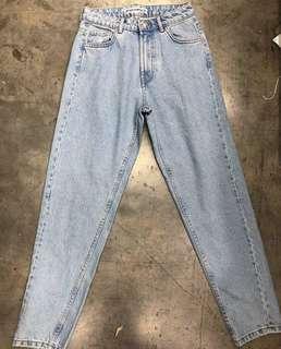 ZARA mom's jeans