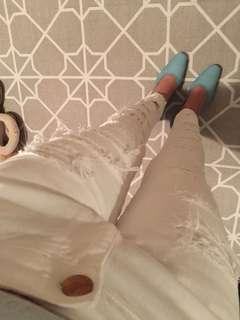 Maje white Jeans