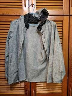 🚚 黑白蕾斯外套