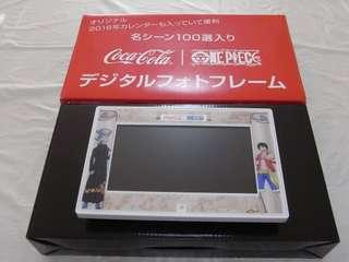 海賊王 x 可口可樂 電子相架 Digital Photo Frame One Piece x Coca Cola
