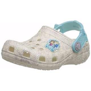 (New) Crocs Girls' Classic Frozen Clog
