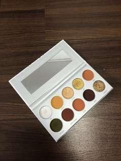 Armed and gorgeous palette