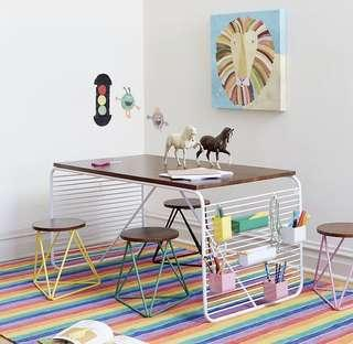 Price reduced!! Crate and barrel - Eric Trine Kids Table
