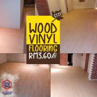 AFFORDABLE & BEST QUALITY FLOORING - STARTING FROM RM3.60/SQFT