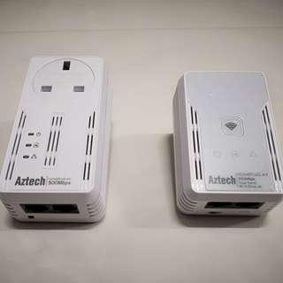 Homeplug AV 500Mbps HL117EP & HL117EW set