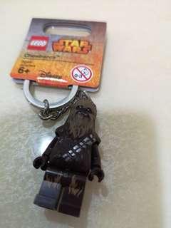 Lego star wars chewbacca keychain