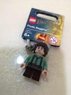Lego Frodo Baggins Lord of the rings keychain