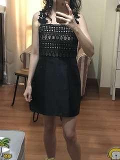 Just G black cocktail dress FOR RENT