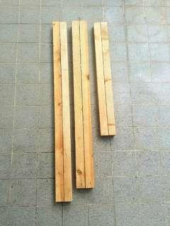 [2 PCS EACH LENGTH ONLY] Unused Wood Blocks/Strips For Sale