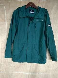 Jaket outdoor Polham original kondisi lengit bener