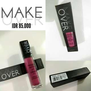 MAKE OVER - Lip Cream 001 LAVISH #bersihbersih