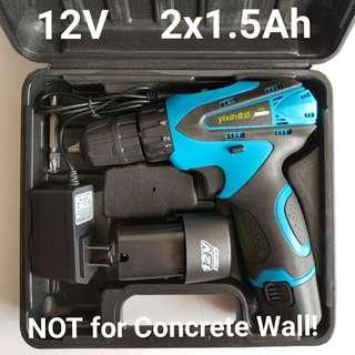Rechargeable 12V Cordless Drill