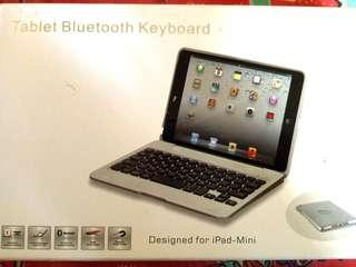 Bluetooth Keyboard with case for Ipad - Mini