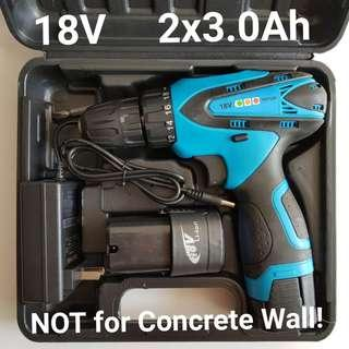 Rechargeable 18V Cordless Drill