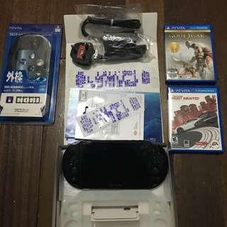 PS Vita Slim (Black)