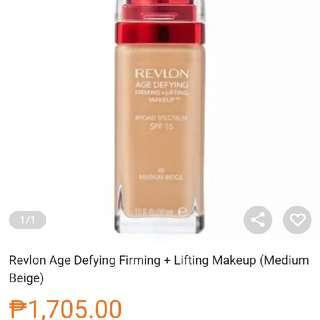 💯 auth revlon age defying foundation