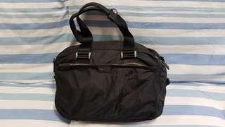 Agnis b Voyage Black Shoulder Bag