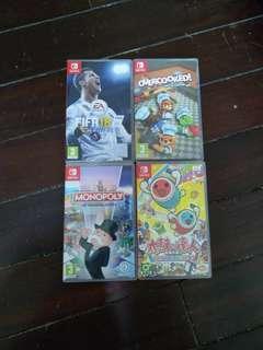 高價回收switch games