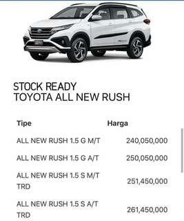 Ready Stock all new rush