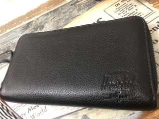 Herschel 真皮長銀包 Real leather wallet from UK 🇬🇧