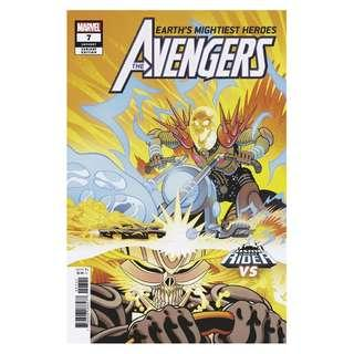 Earth's Mightiest Heroes The avengers #7 ( Origin of 10,000 BC Ghost Rider)