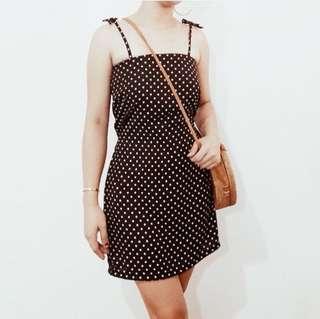 Polka Dress (SMALL)