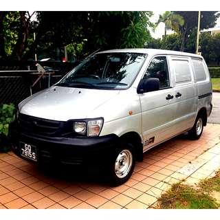 Cars and van for rent - P-plate drivers welcome