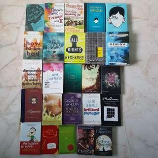 ALL BOOKS $10 AND UNDER