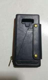 Samsung Note 9 genuine leather flip casing