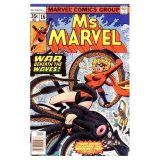 Ms. Marvel #16 (First Cameo appearace of Mystique / Raven Darkholme)