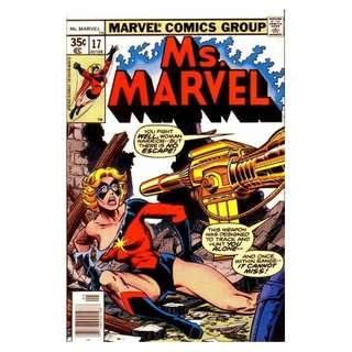 Ms. Marvel #17 ( Mystique / Raven Darkholme Cameo)