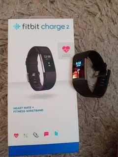 (L) Fitbit Charge 2 Black