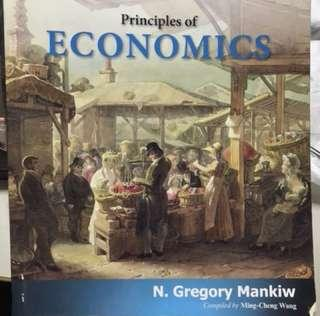 🚚 Principles of economics 經濟學原文書