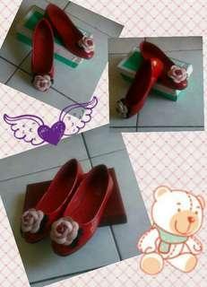 花朵娃娃鞋