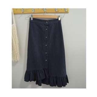 Asymmetric Skirt Made in Korea (Size S)